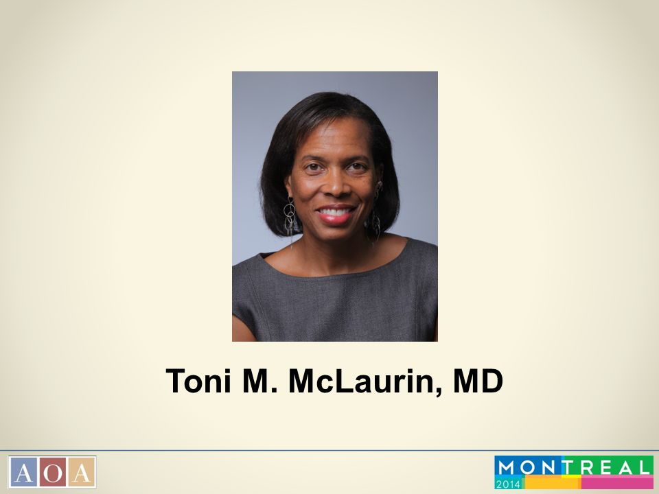 Toni M. McLaurin, MD