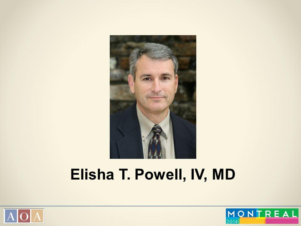 Elisha T. Powell, IV, MD