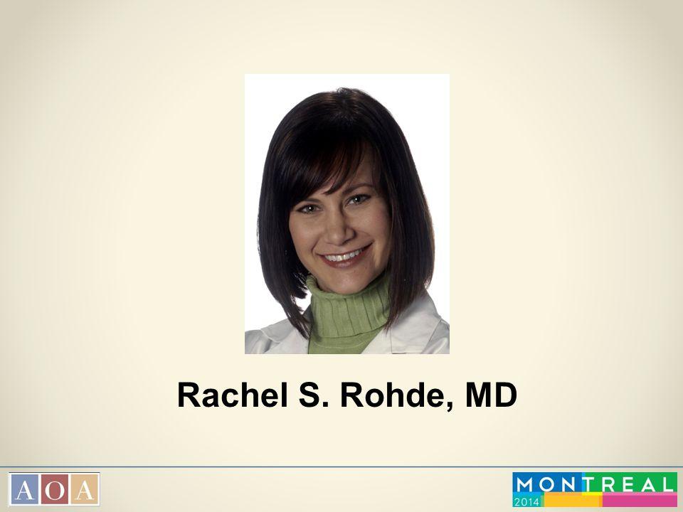 Rachel S. Rohde, MD