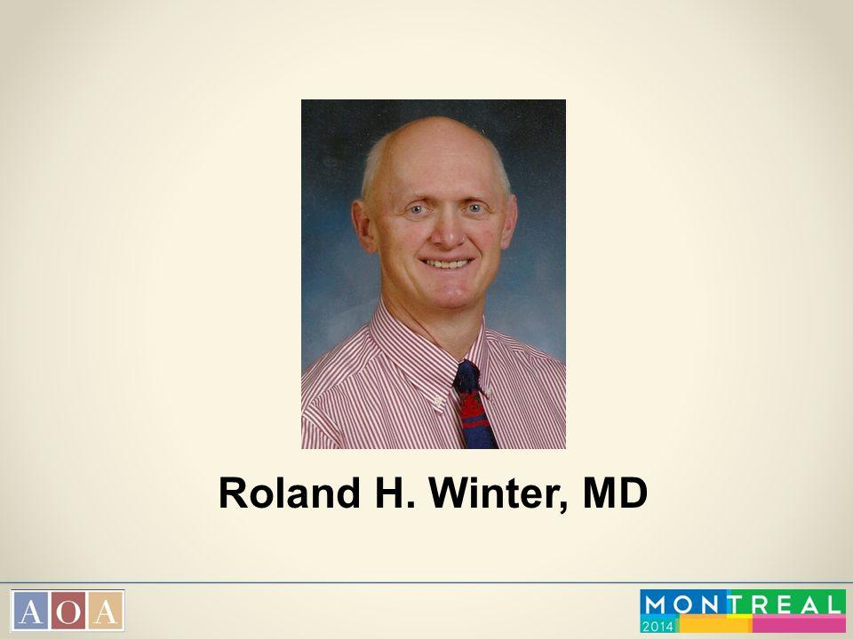 Roland H. Winter, MD