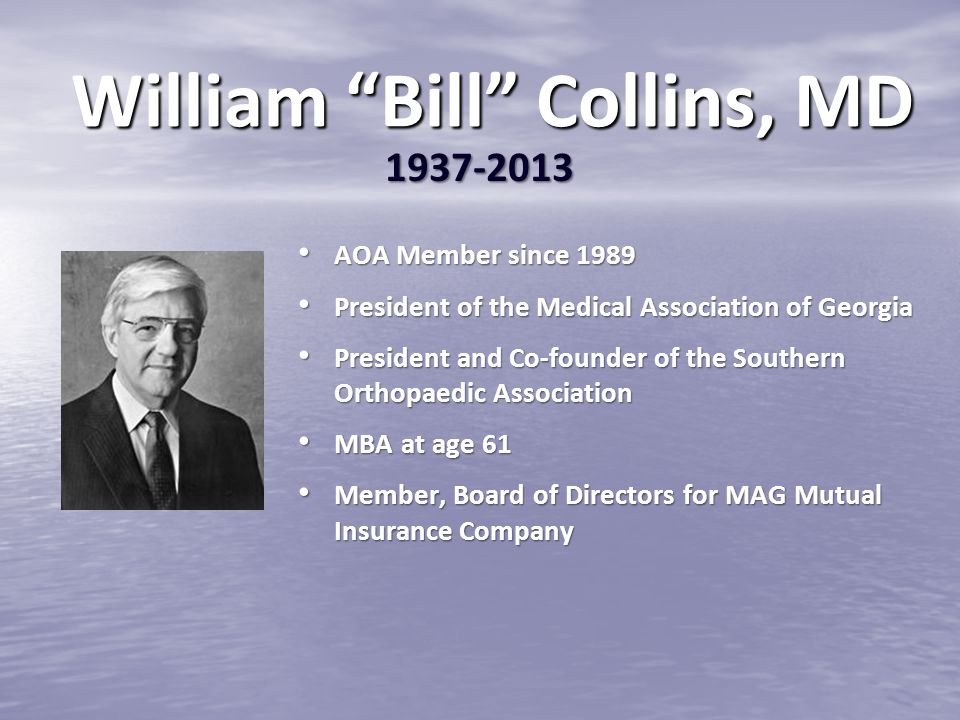 William Bill Collins, MD