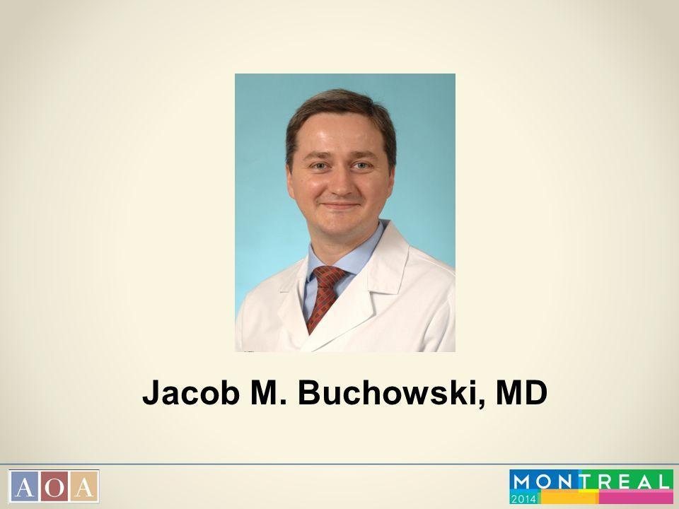 Jacob M. Buchowski, MD