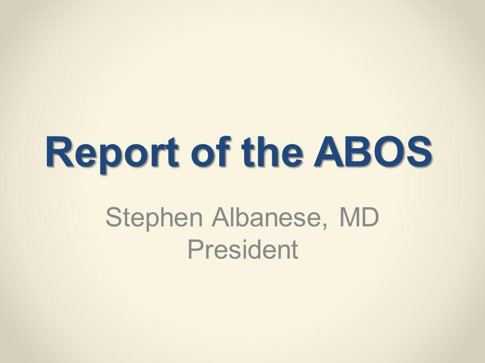 Stephen Albanese, MD President