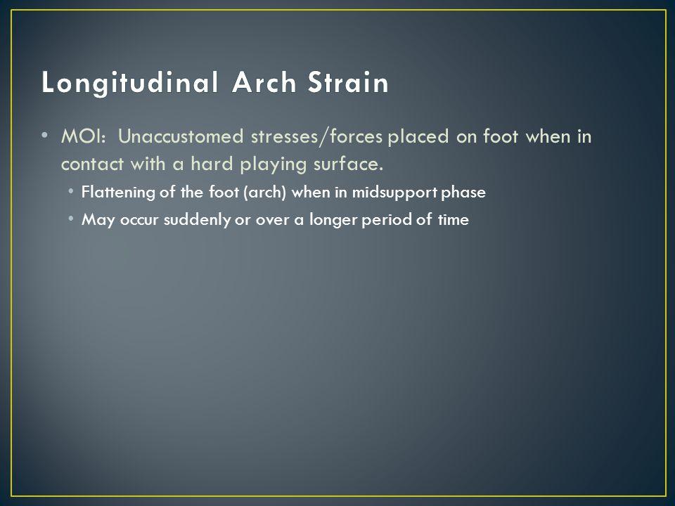 Longitudinal Arch Strain