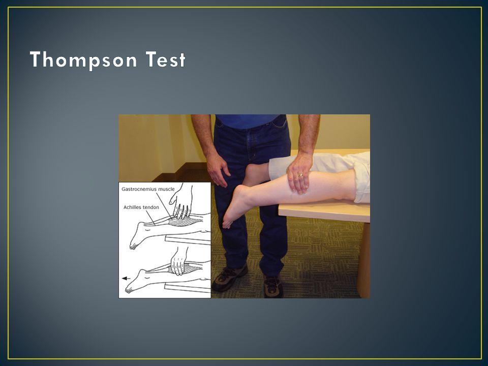 Thompson Test