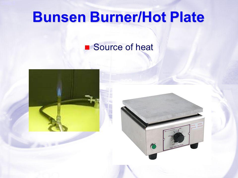 Bunsen Burner/Hot Plate