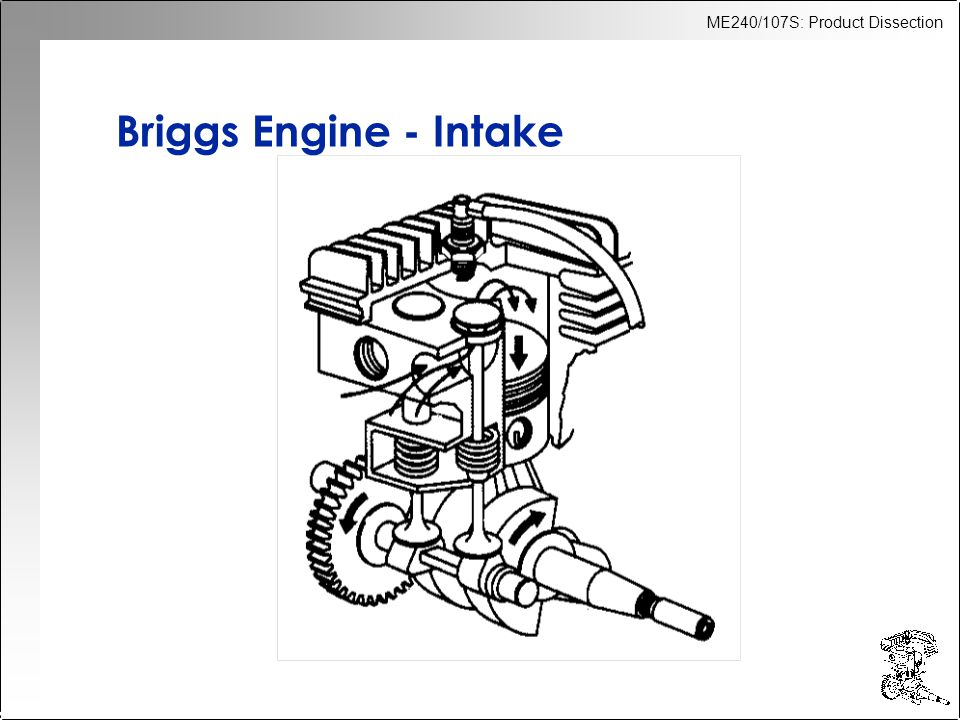 Briggs Engine - Intake