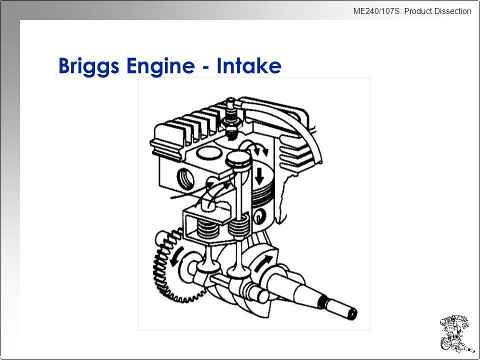Briggs Engine - Intake