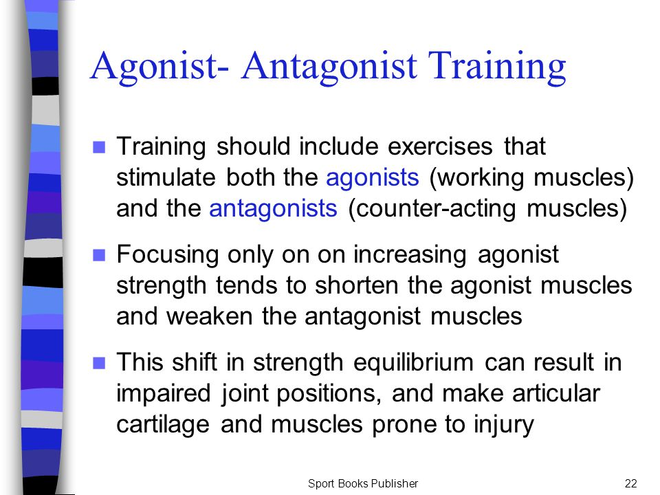 Agonist- Antagonist Training