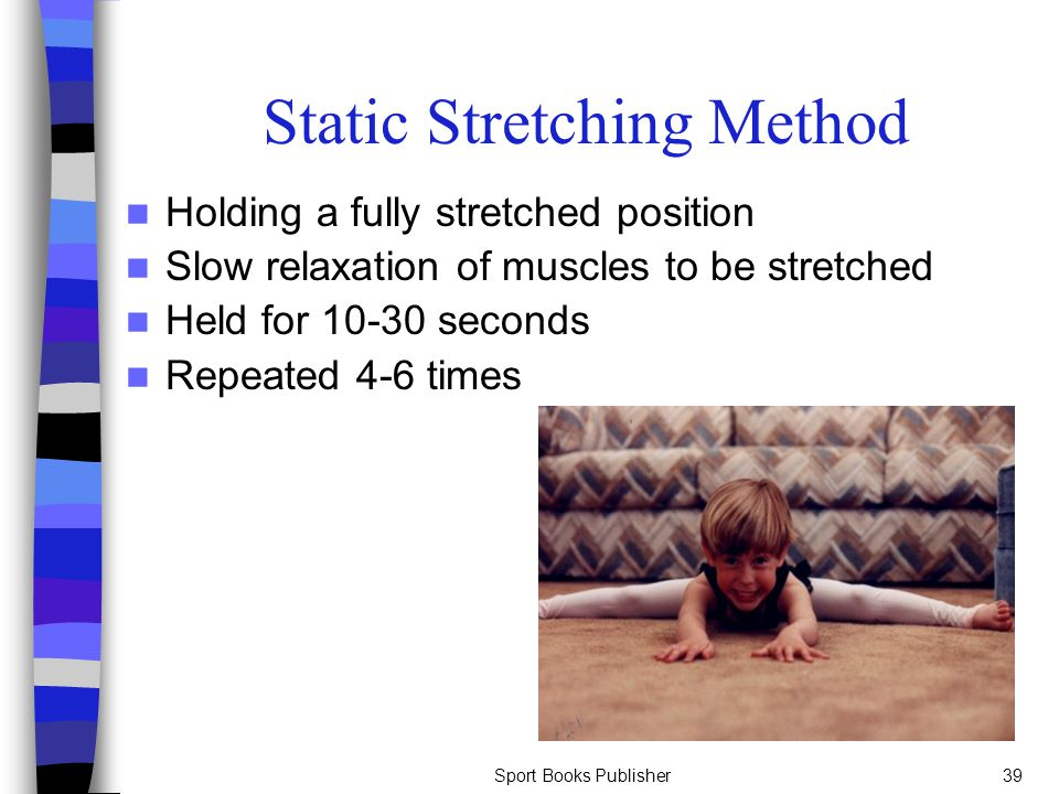 Static Stretching Method