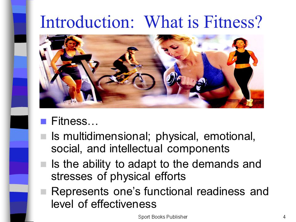 Introduction: What is Fitness