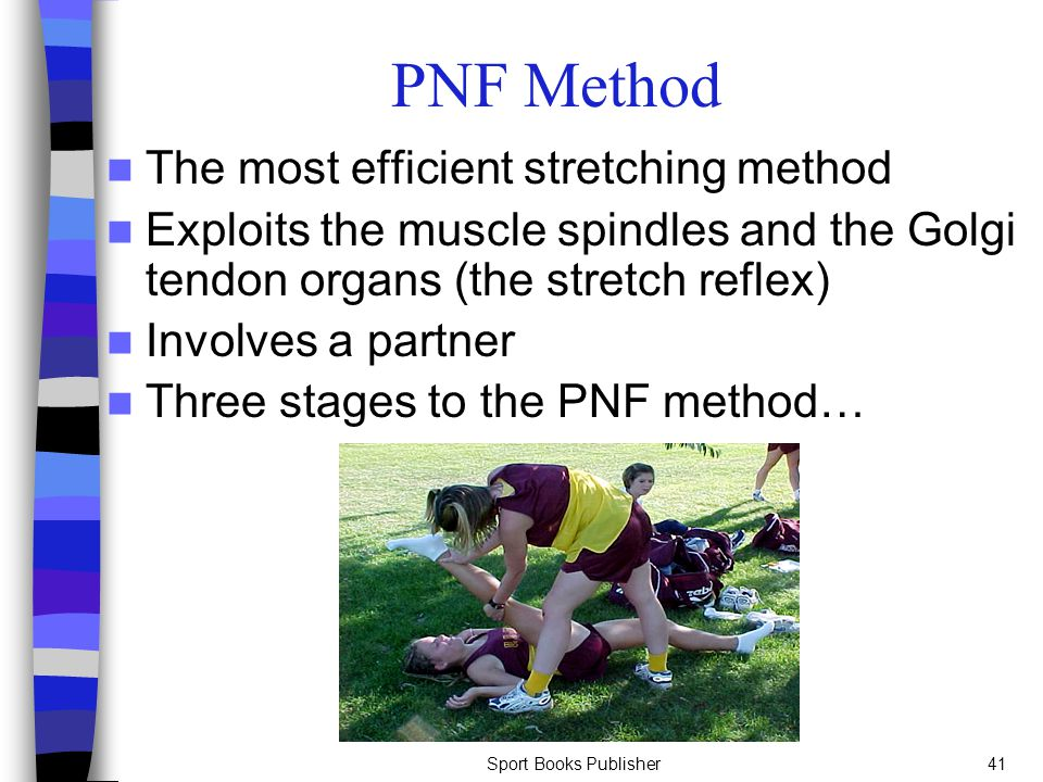 PNF Method The most efficient stretching method