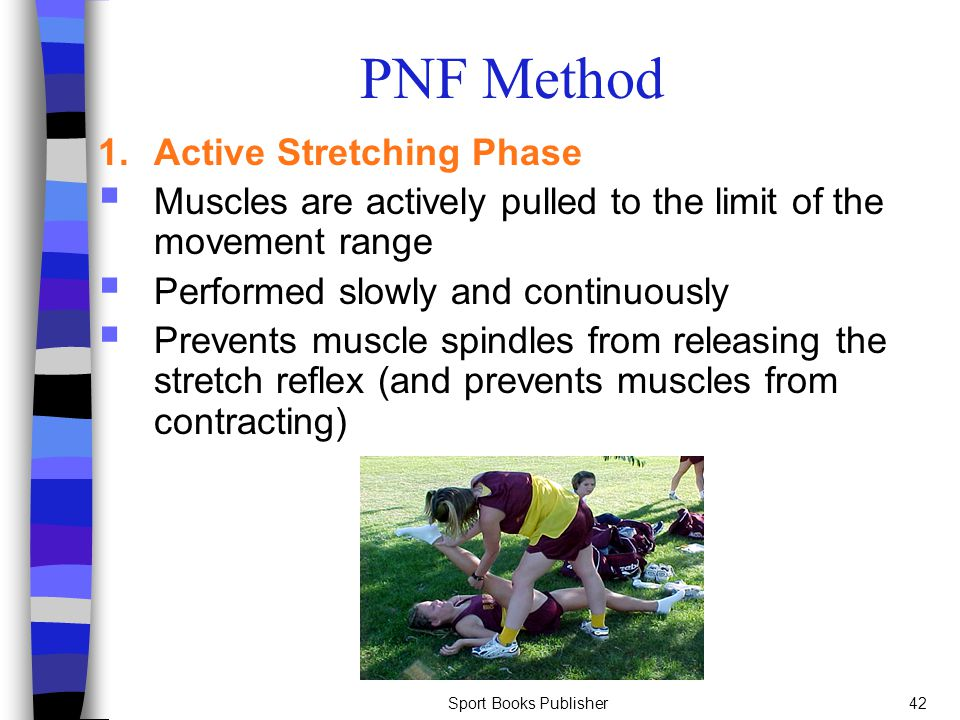 PNF Method 1. Active Stretching Phase