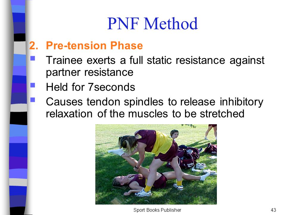 PNF Method 2. Pre-tension Phase