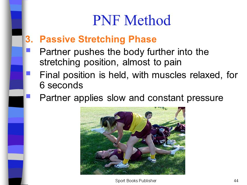 PNF Method 3. Passive Stretching Phase