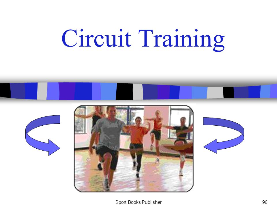 Circuit Training Sport Books Publisher