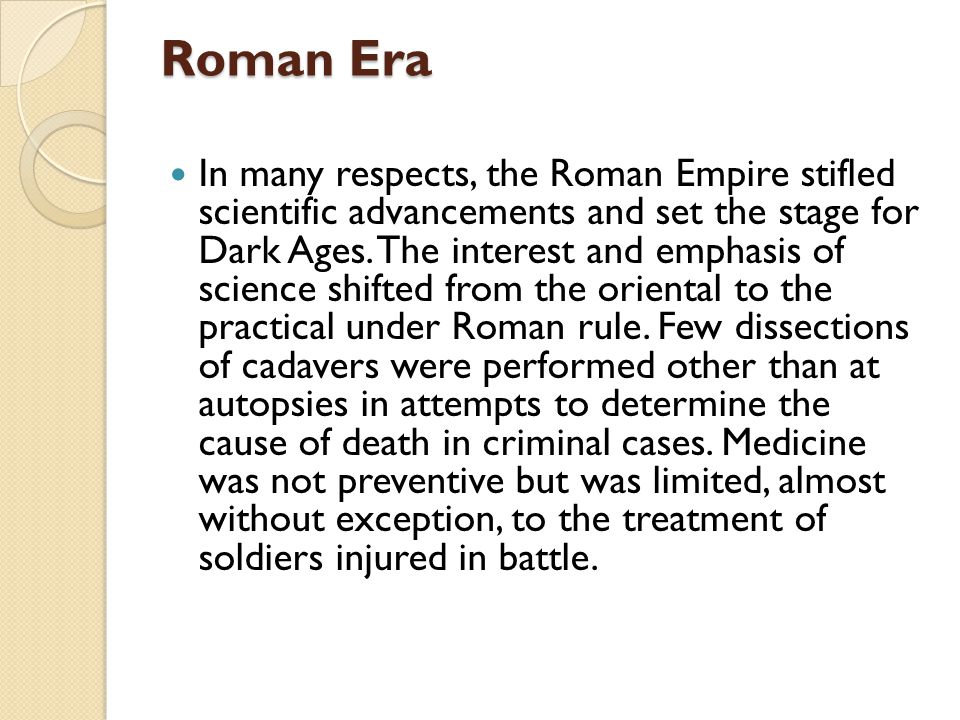 Roman Era