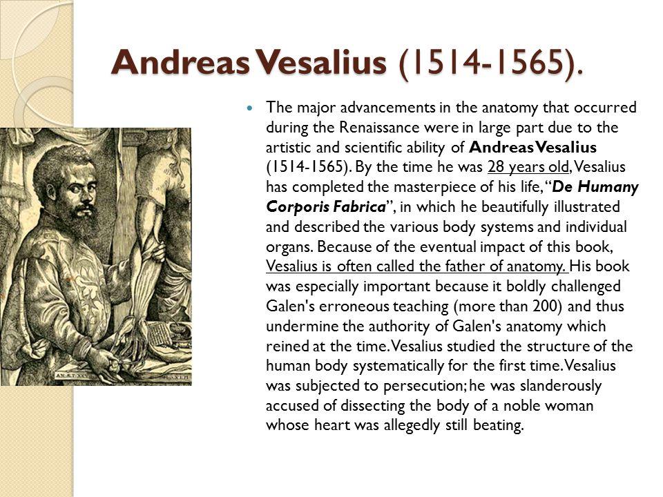 Andreas Vesalius (1514-1565).