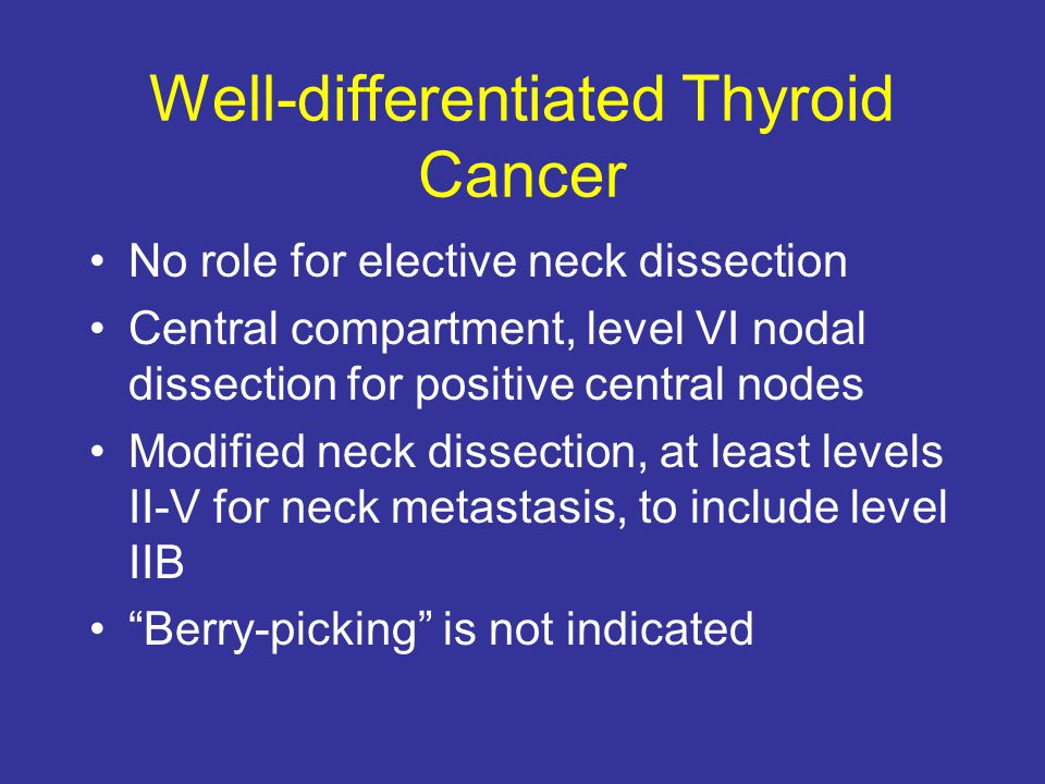 Well-differentiated Thyroid Cancer