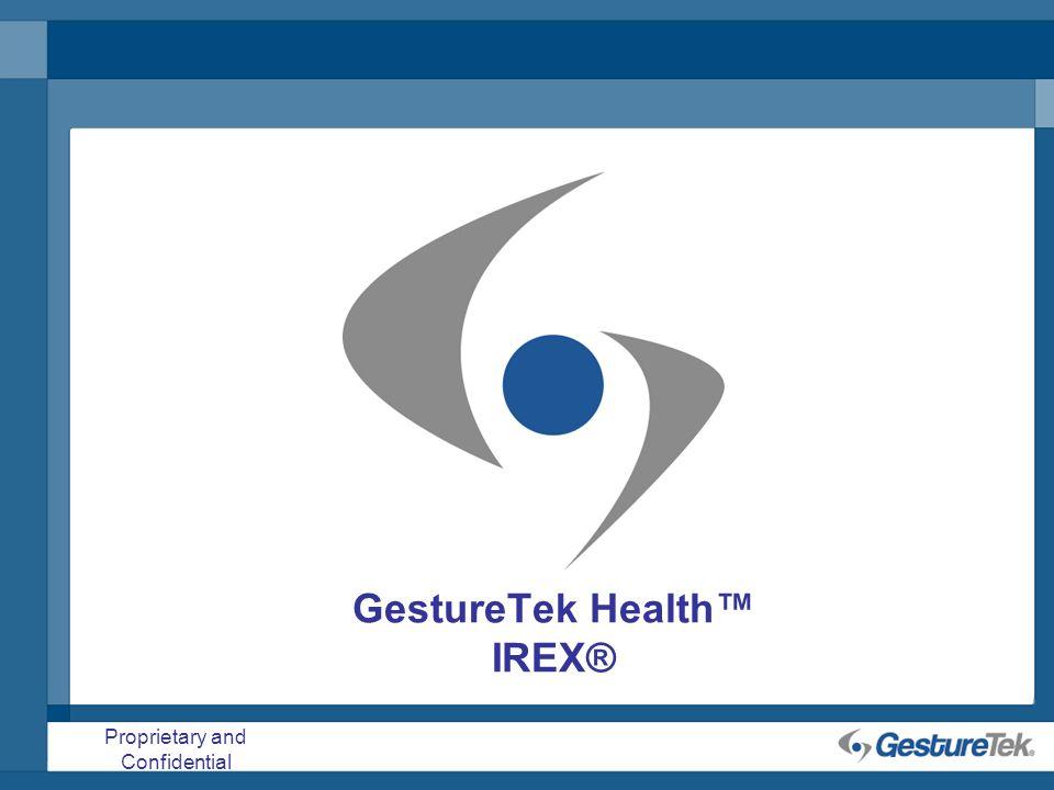 GestureTek Health™ IREX®