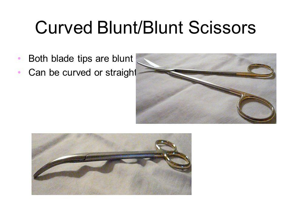 Curved Blunt/Blunt Scissors