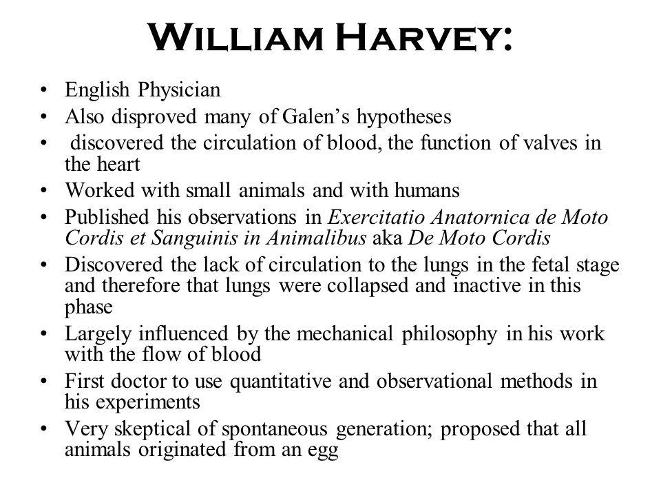 William Harvey: English Physician