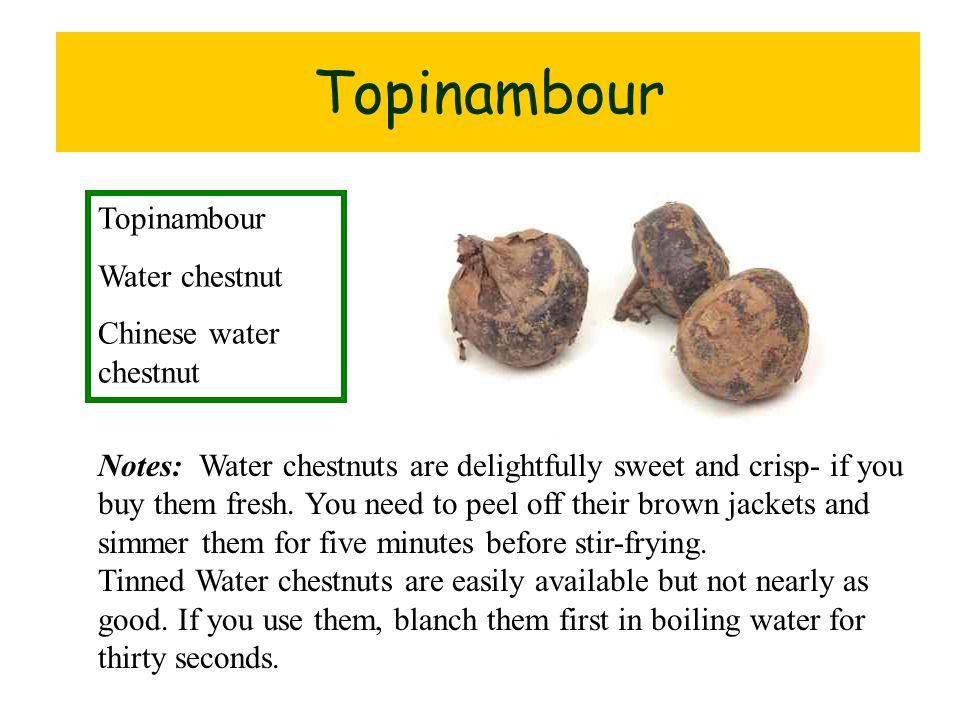 Topinambour tapioca root Topinambour Water chestnut