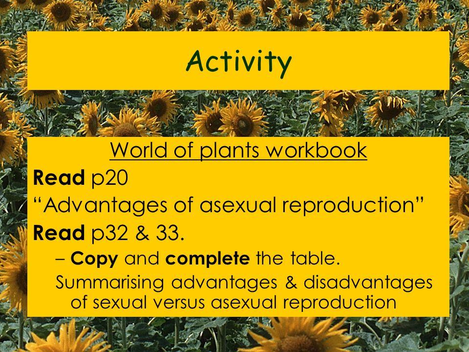 World of plants workbook
