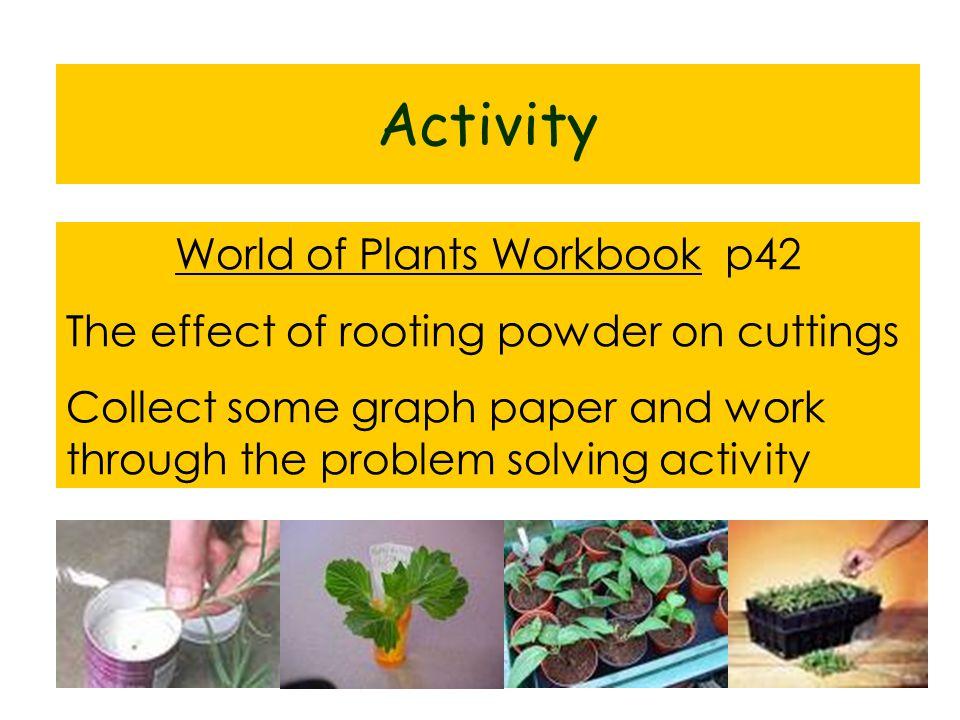 World of Plants Workbook p42