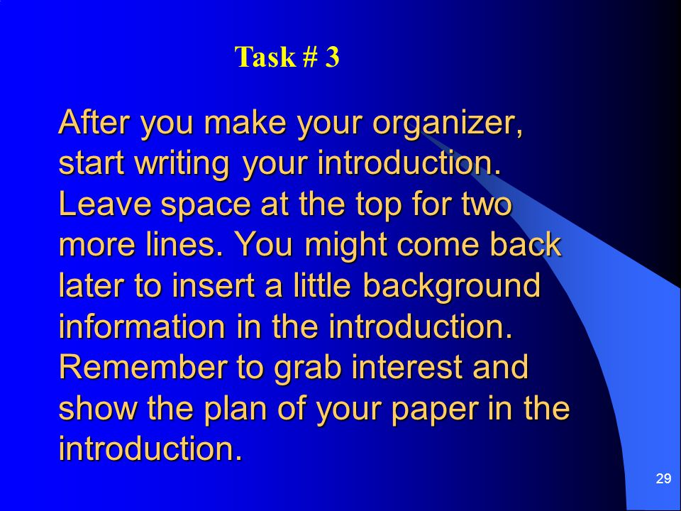 Task # 3