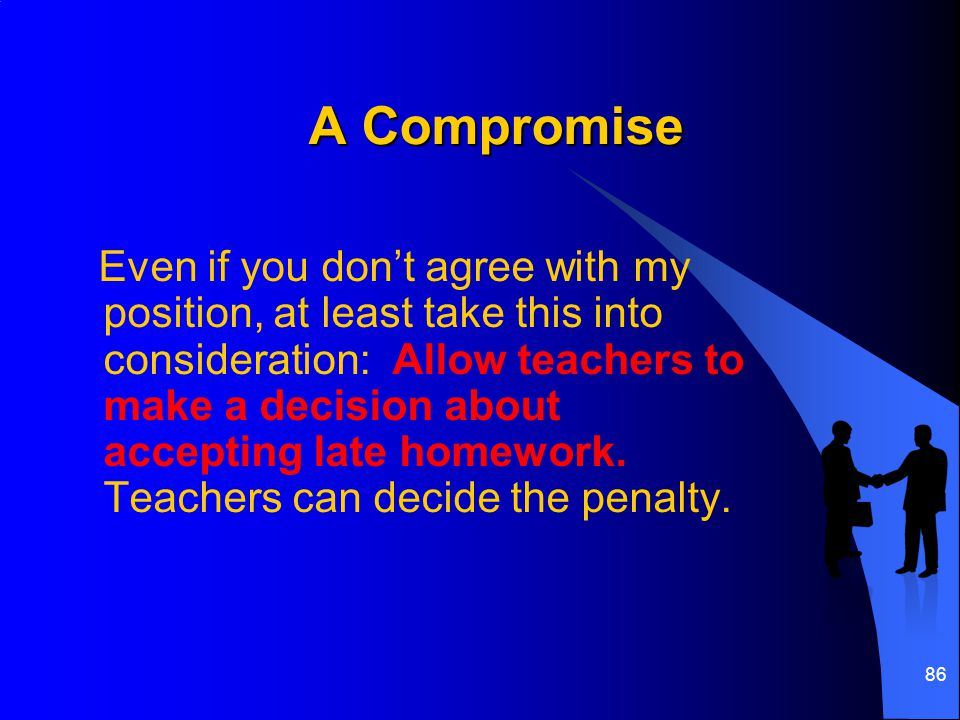A Compromise
