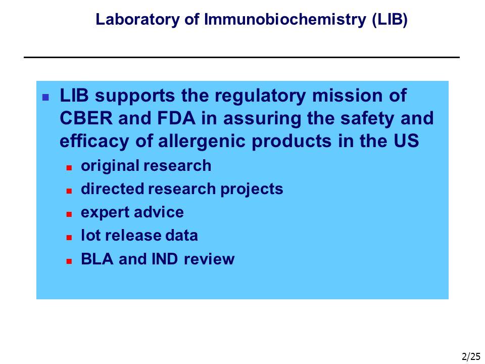 Laboratory of Immunobiochemistry (LIB)