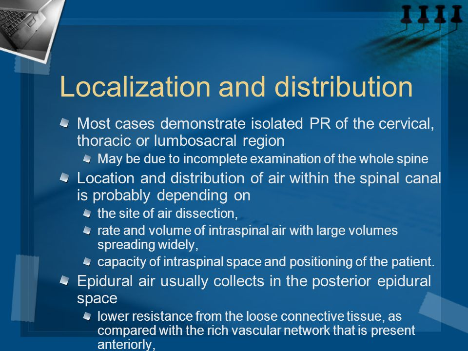 Localization and distribution