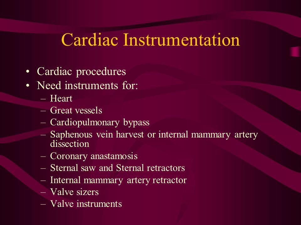 Cardiac Instrumentation
