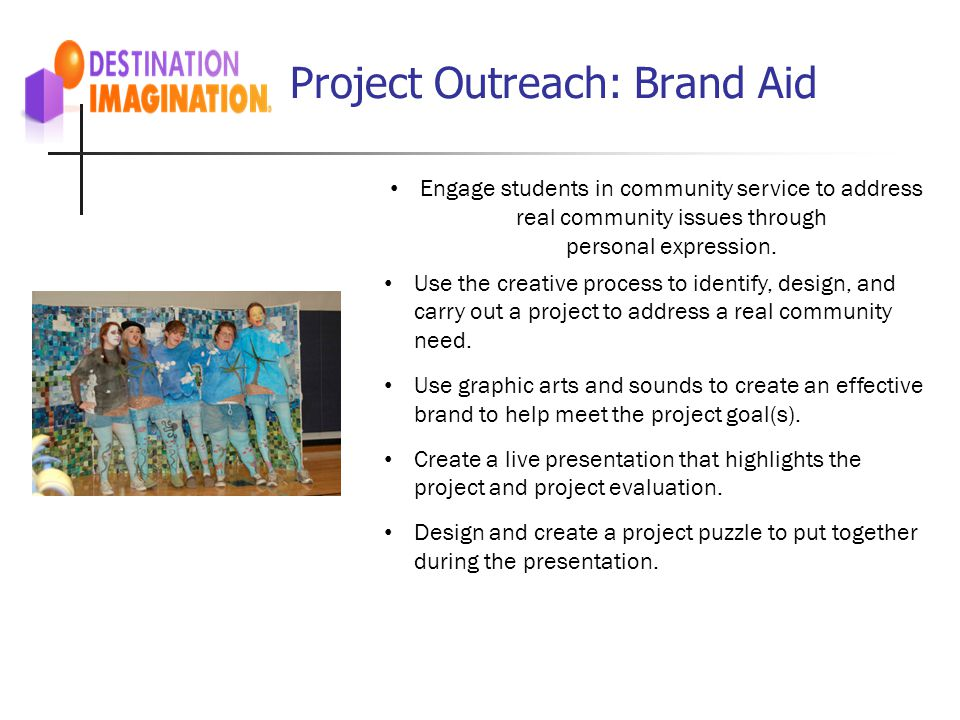 Project Outreach: Brand Aid