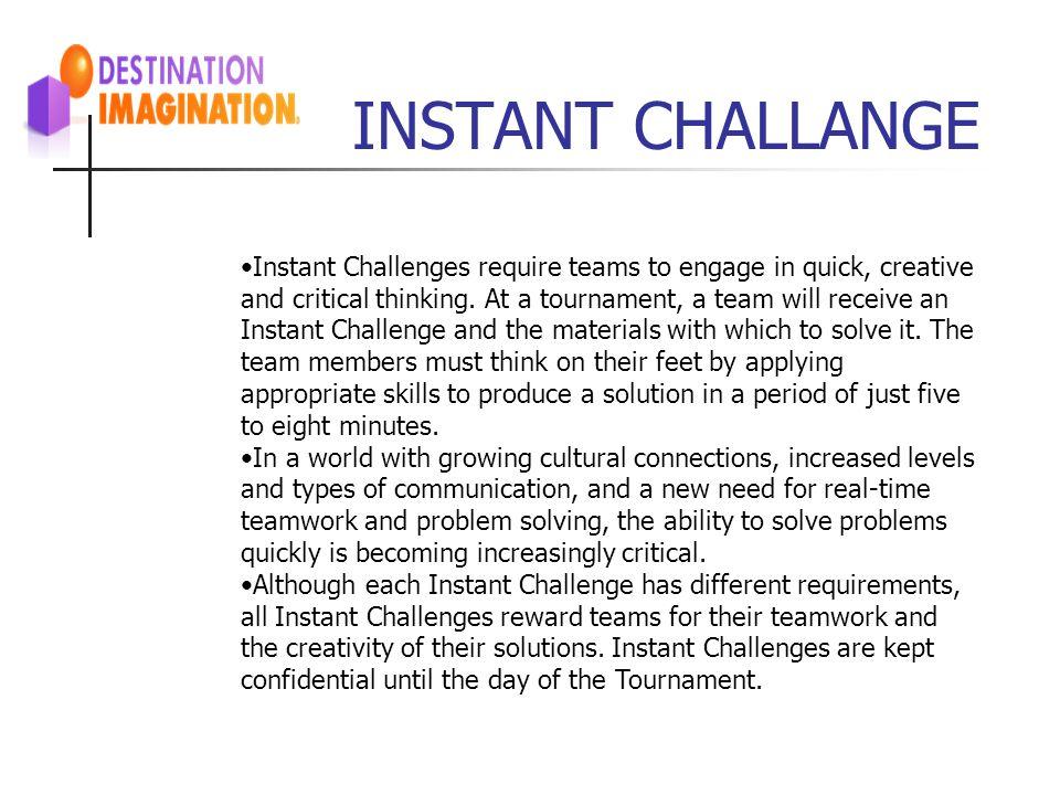 INSTANT CHALLANGE