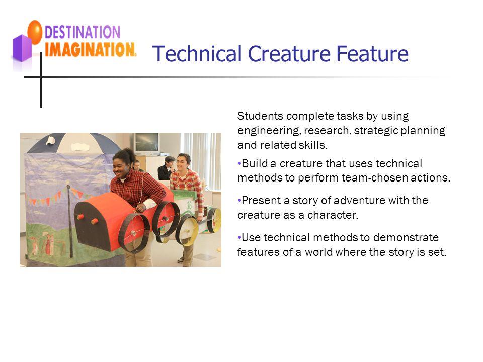 Technical Creature Feature