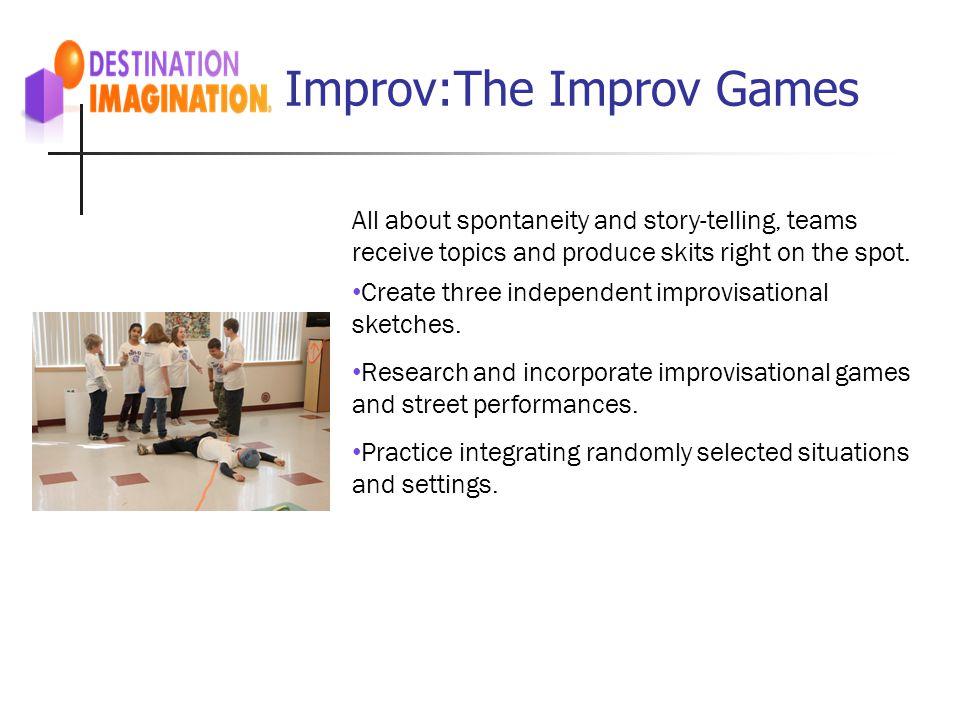 Improv:The Improv Games