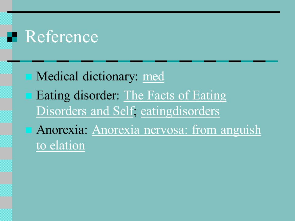 Reference Medical dictionary: med