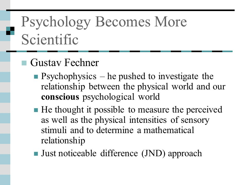 Psychology Becomes More Scientific