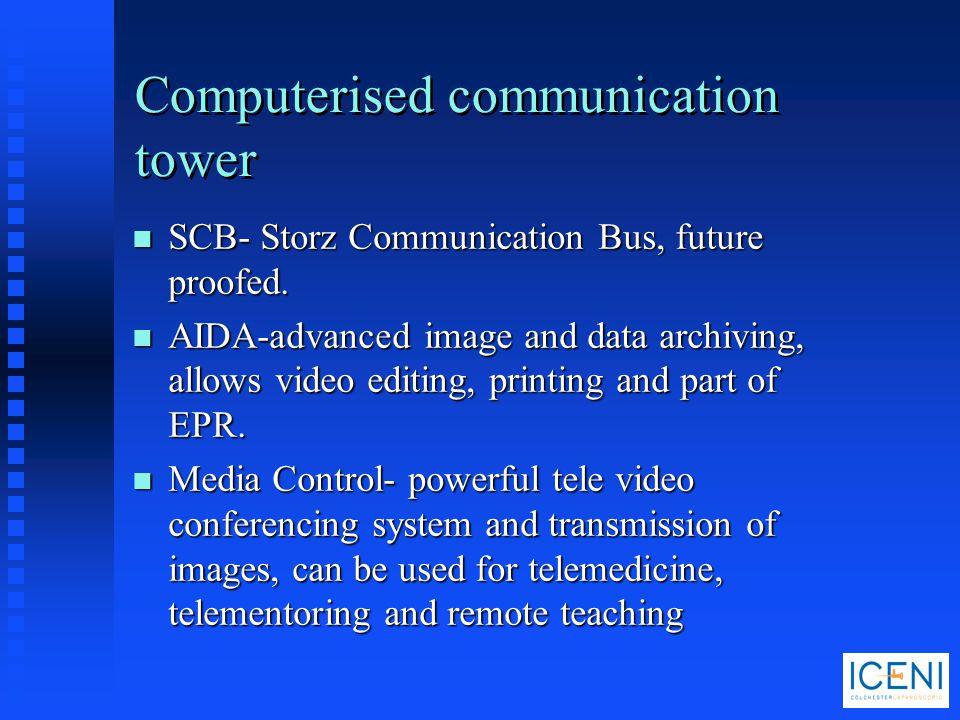 Computerised communication tower