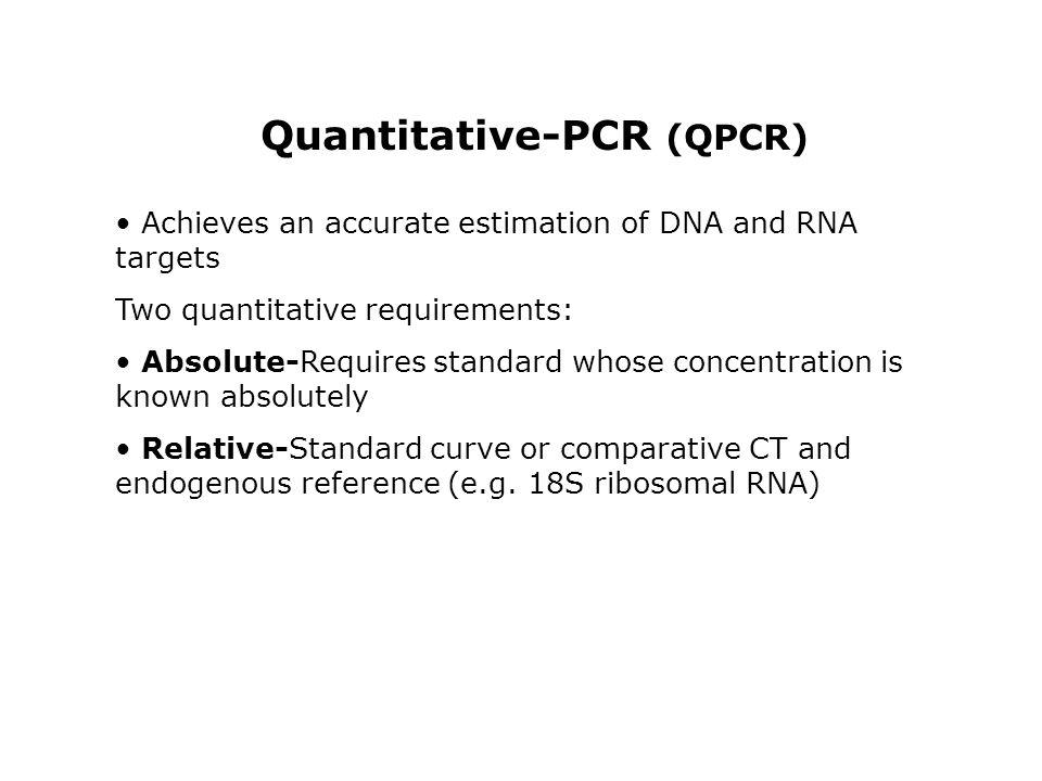 Quantitative-PCR (QPCR)