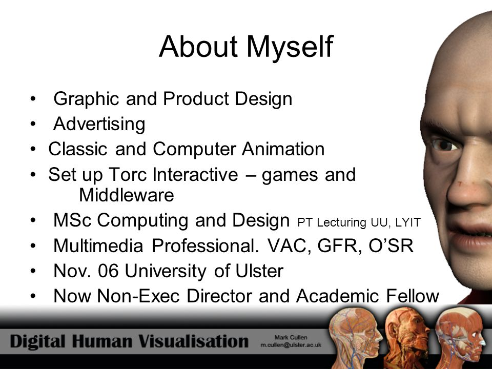 About Myself Graphic and Product Design Advertising