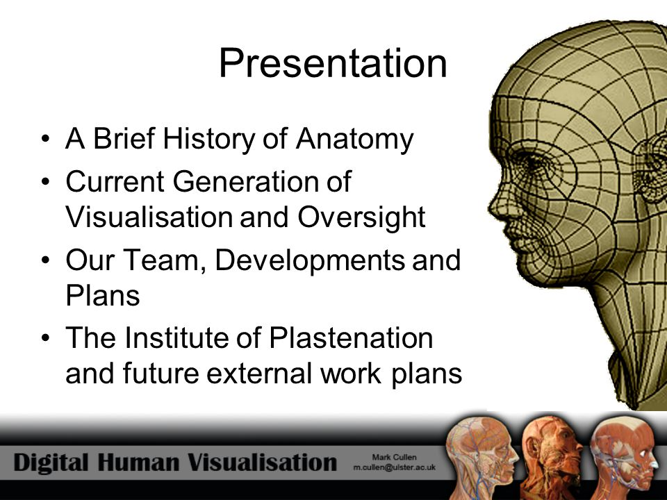 Presentation A Brief History of Anatomy