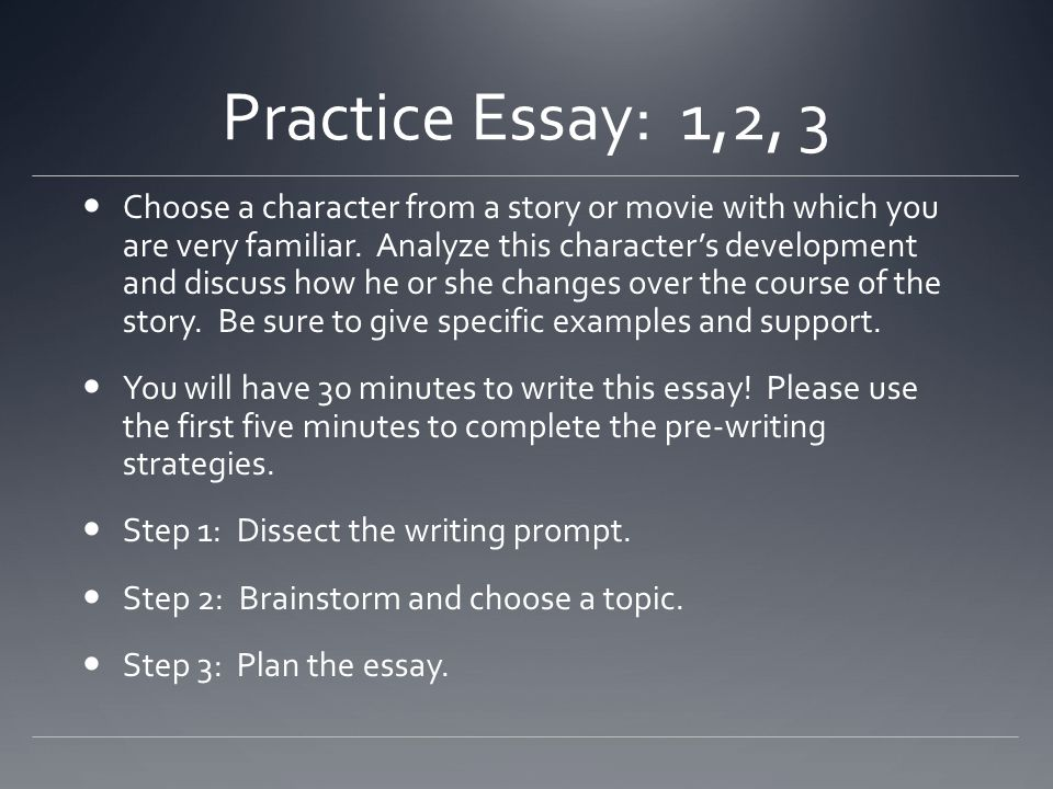 how to practice essay writing Free essay writing online practice tests reading, 11th-12th grade: english, toefl ibt, efl, esl, verbal, essay writing, college/undergrad.
