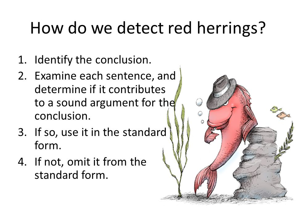 How do we detect red herrings