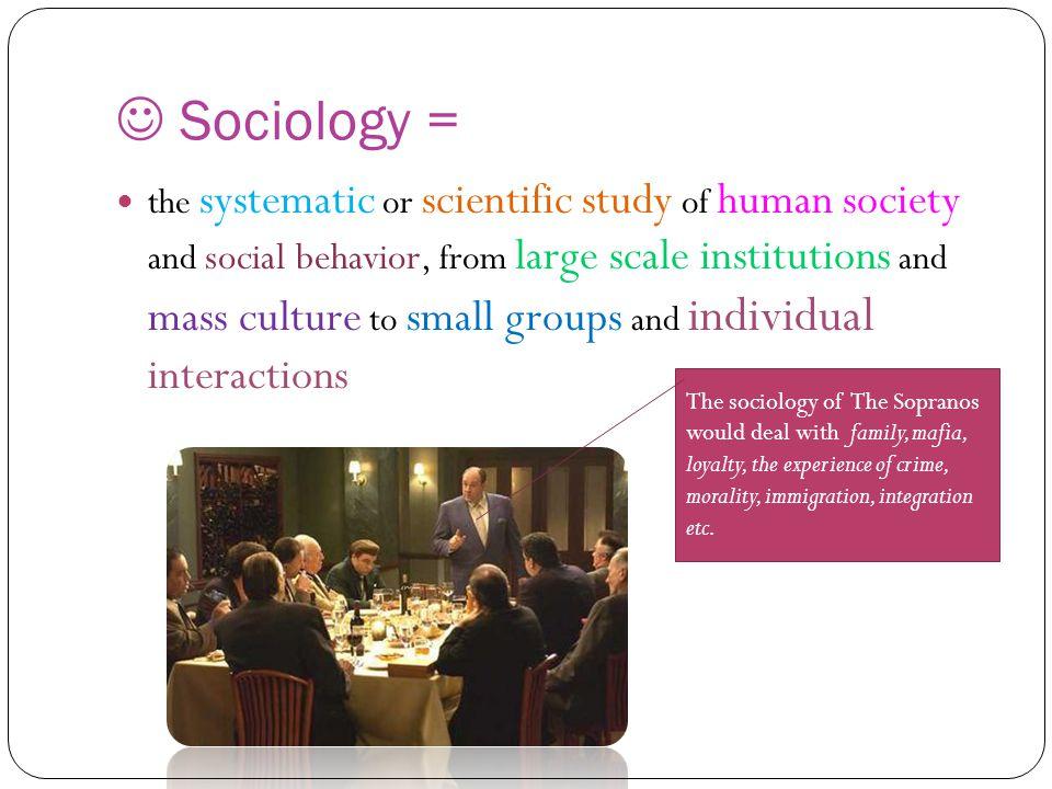  Sociology =
