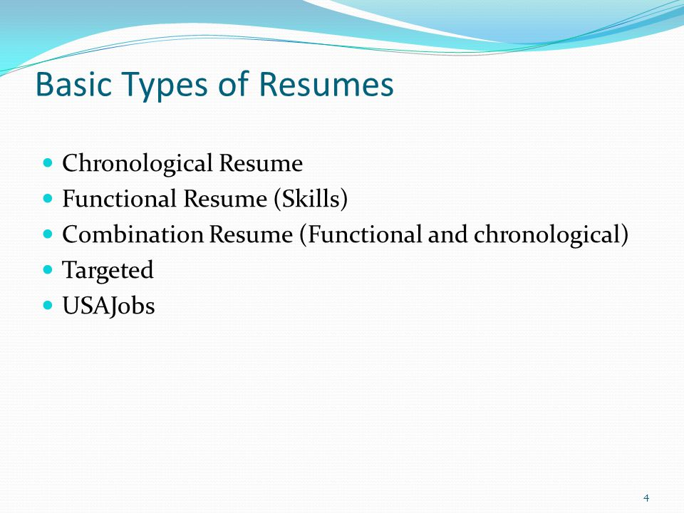 federal resume writing workshop ppt