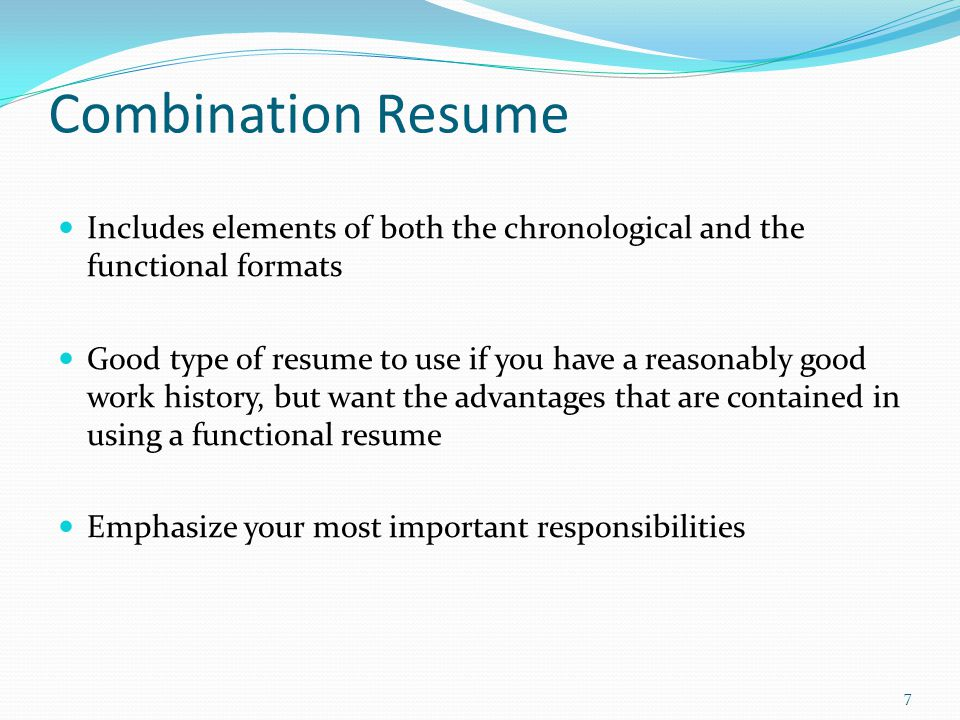 Elements ...  Elements Of A Good Resume