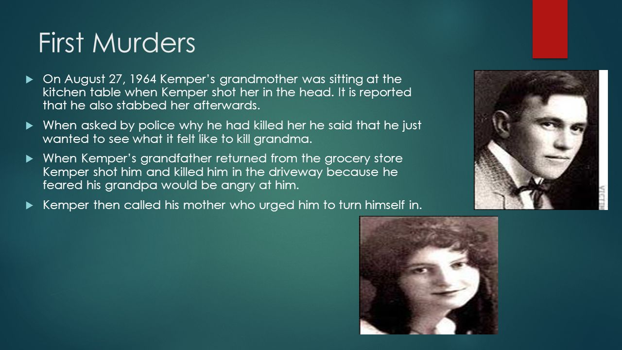 First Murders